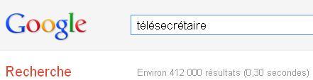 recherche google télésecrétaire ab-office.com